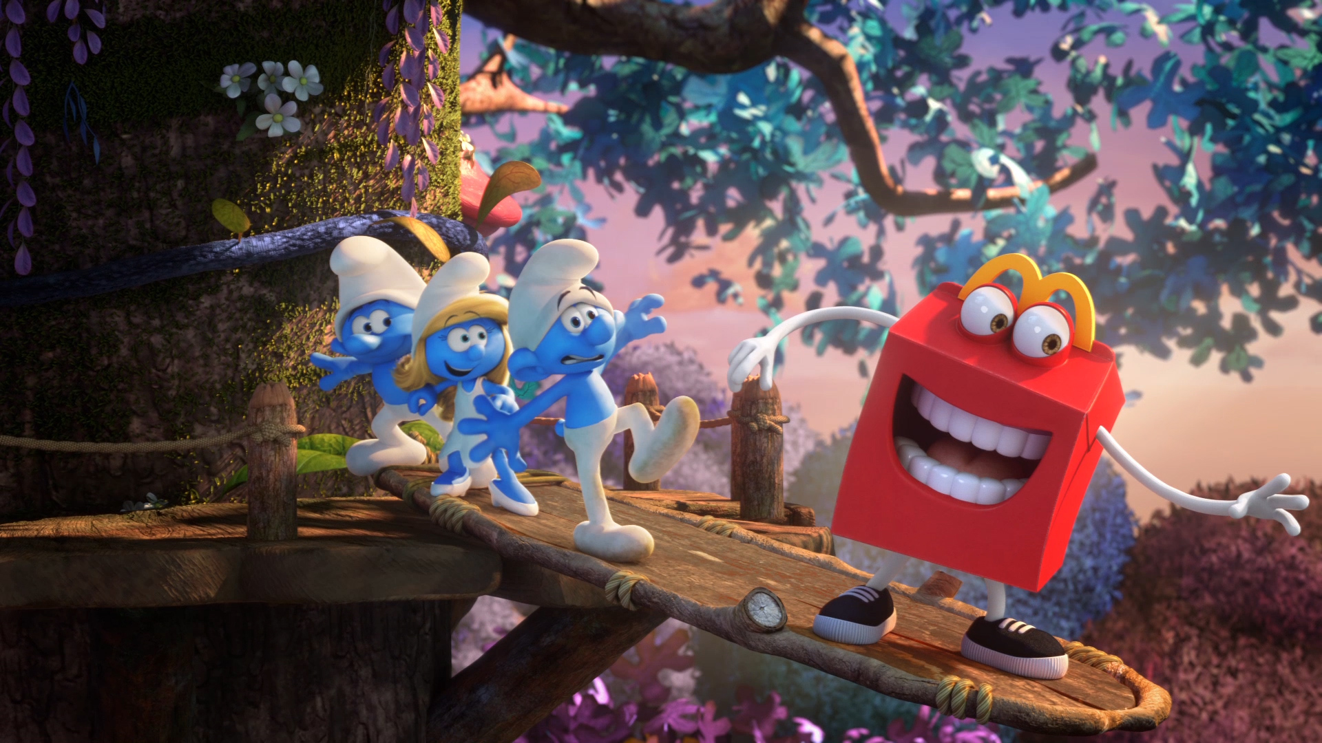McDonald´s HappyMeal – Sony Pictures – Smurfs
